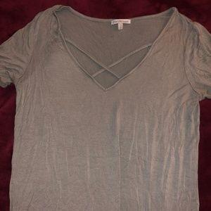 soft t-shirt with cross design